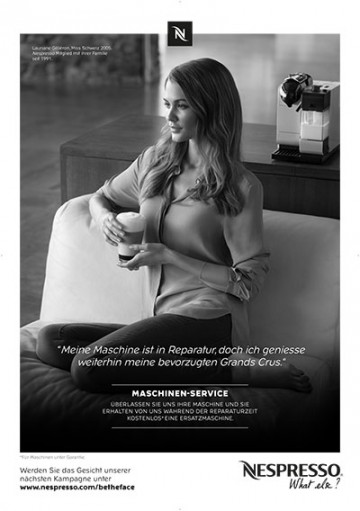 Nespresso - Be the Face