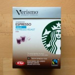 Starbucks Verismo Espresso Roast